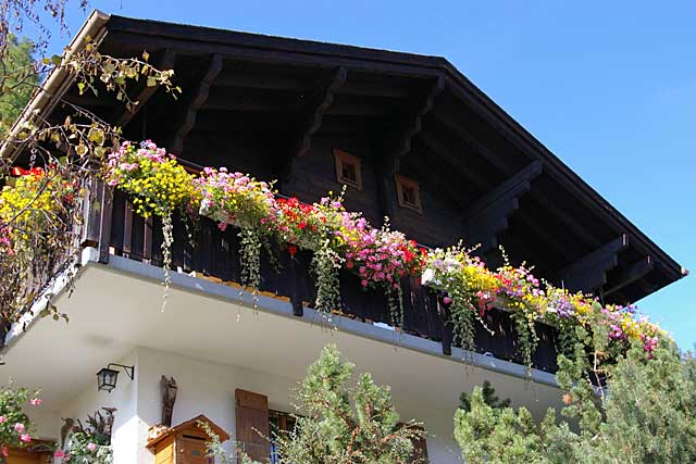 Wood Balcony Switzerland