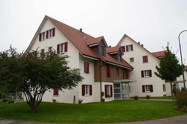 Photo example of new multi family traditional houses